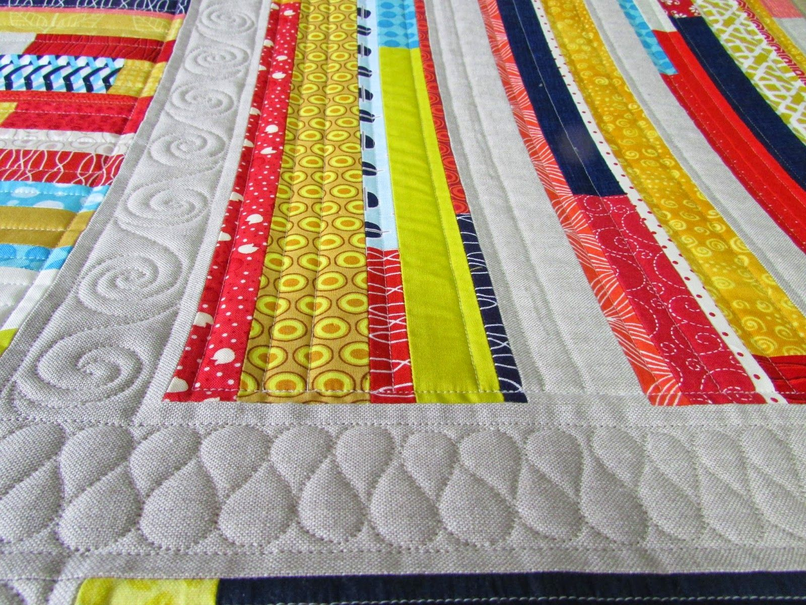 "The Quilting Mill: ""Woven"" quilt by Kati Spencer in Scraps, Inc."
