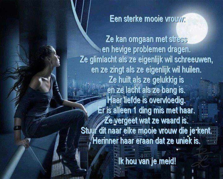 Iets Nieuws Sterke vrouw | Mooie teksten - Words, Quotes en Women &SA04