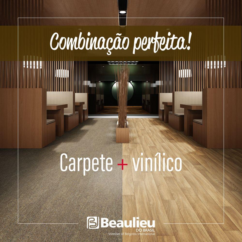 Match Combinar Diferentes Tipos De Piso Na Mesma Instacao E A Tendencia Para 2017 Carpete Beaulieudobrasil Pisos Vinilicos Pisos Decor Room Divider Home