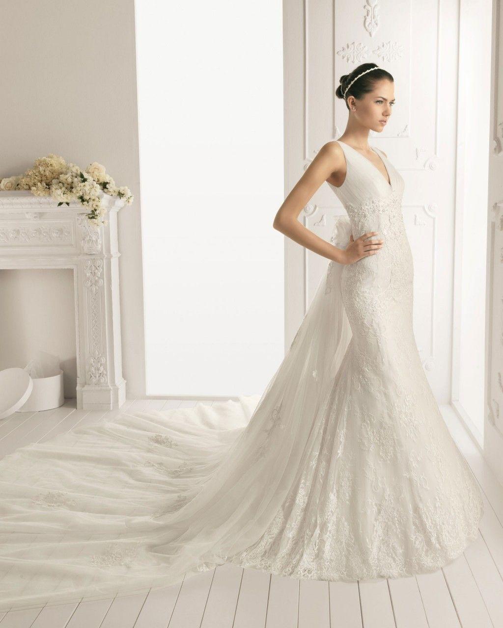 wedding dresses with detatchable trains Buy Trumpet V