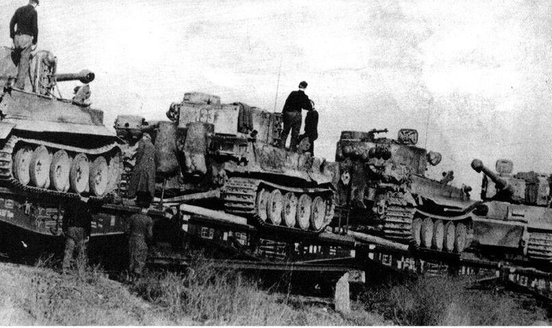 Tiger Panzer`s delivered at Kursk World war