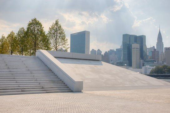 Louis Kahn, Franklin D. Roosevelt Four Freedoms Park opens in New York City : Architectural Digest