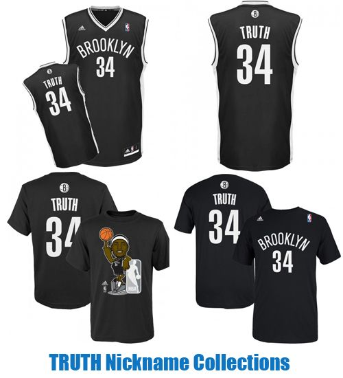 newest 9b53e 6aaa8 TRUTH Jerseys and T-Shirts Paul Pierce Nickname Collectons ...