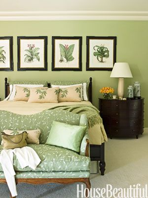 Green Paint Bedroom Ideas Simple Ideas