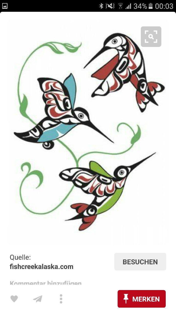 Pin by susan savage on northwest coast art pinterest native art hummingbirds by odin lonning hummingbird tattoo art idea biocorpaavc Gallery