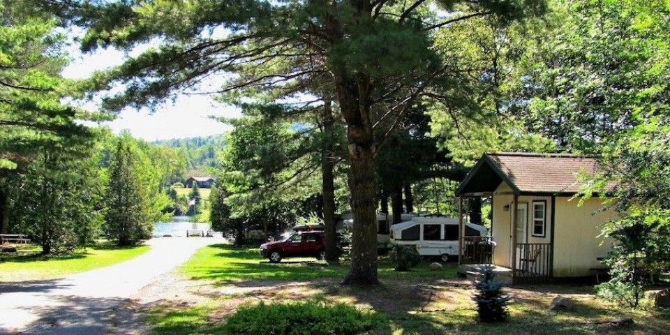 North Pole Campground And Inn Lake Placid Ny Adirondacks Camping Resort Lake Placid Campground