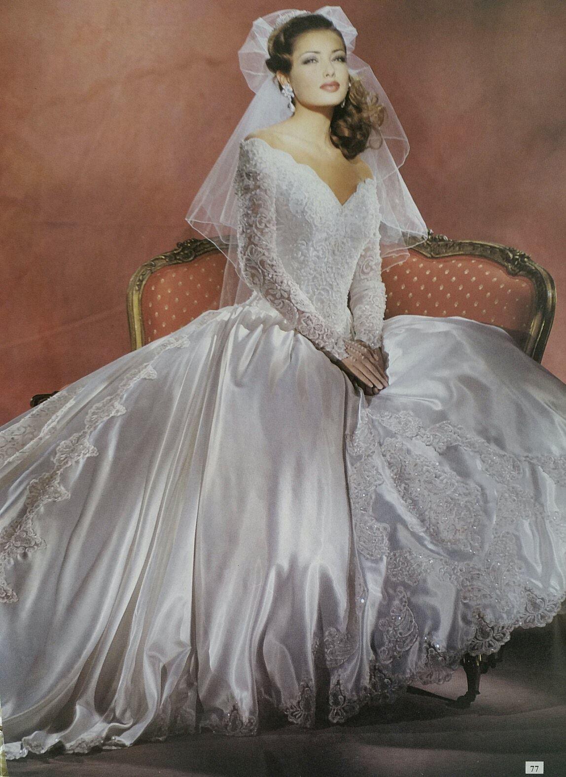 Demetrios vintage brides pinterest wedding dress