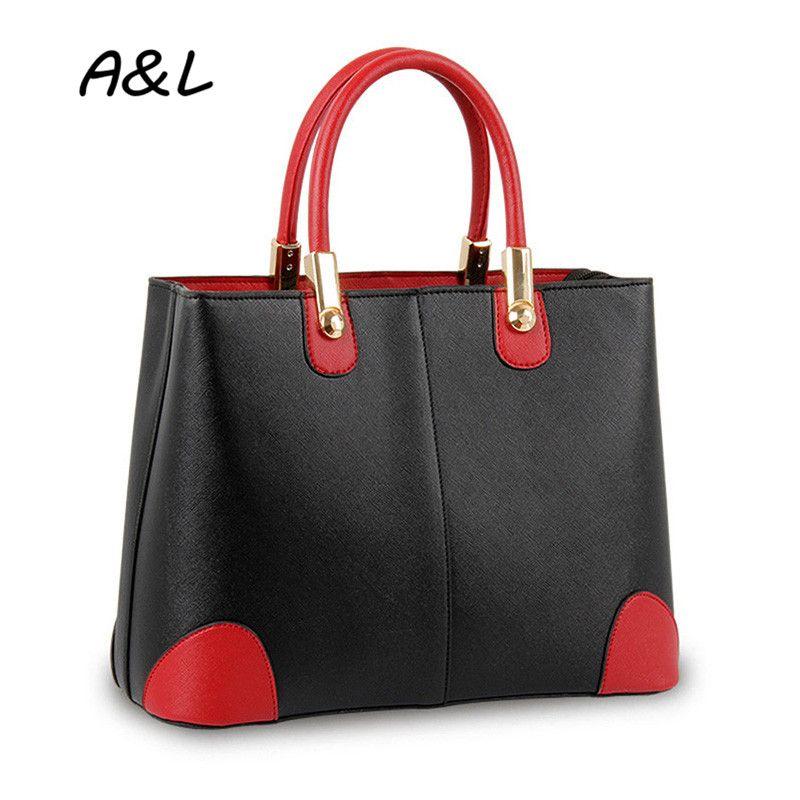 $42.96 (Buy here: https://alitems.com/g/1e8d114494ebda23ff8b16525dc3e8/?i=5&ulp=https%3A%2F%2Fwww.aliexpress.com%2Fitem%2FNew-Fashion-Stitching-Handbag-Women-Bag-Lady-Office-Business-Casual-Hit-Color-Tote-Classic-PU-Leather%2F32660575429.html ) New Fashion Stitching Handbag Women Bag Lady Office Business Casual Hit Color Tote Classic PU Leather Shoulder Bag Bolsas A0010 for just $42.96
