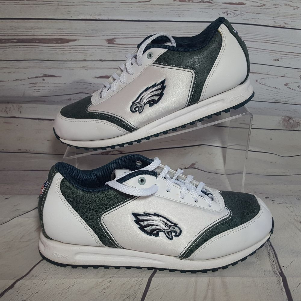 White Eagles Womens Nfl Reebok 5 Sneakers Philadelphia Shoes 6 Size Fl1cKJ