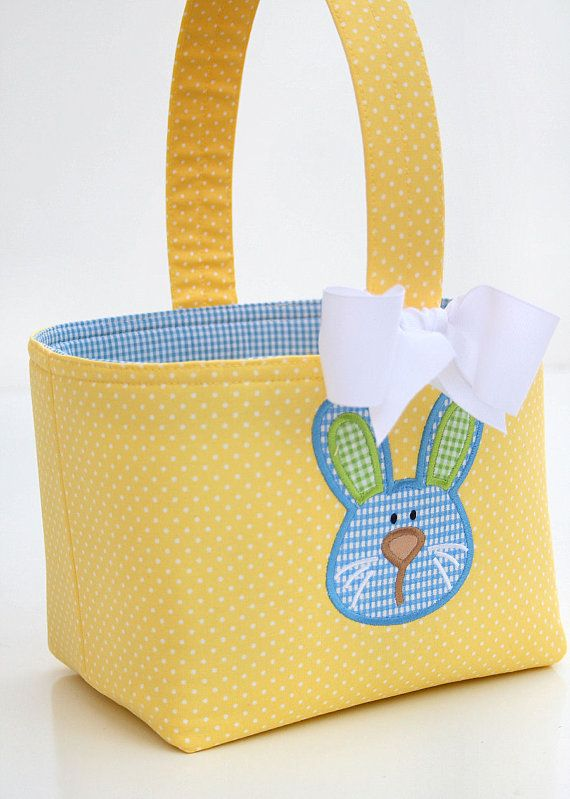 Fabric easter basket pscoaeasterpascua pinterest easter sewing ideas fabric easter basket negle Images