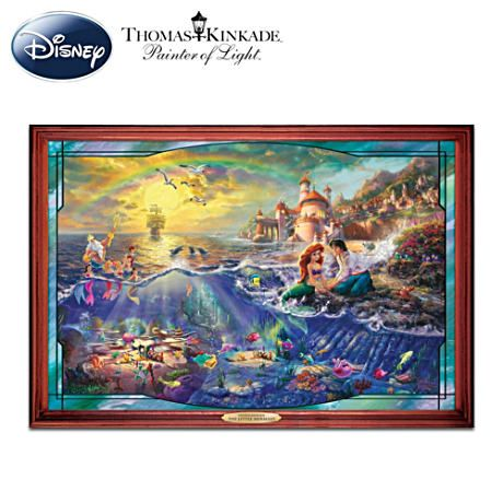Thomas Kinkade The Little Mermaid Wall Decor