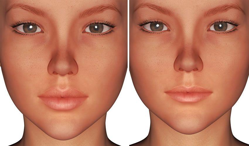 تصغير الشفايف Septum Ring Nose Ring Pearl Earrings