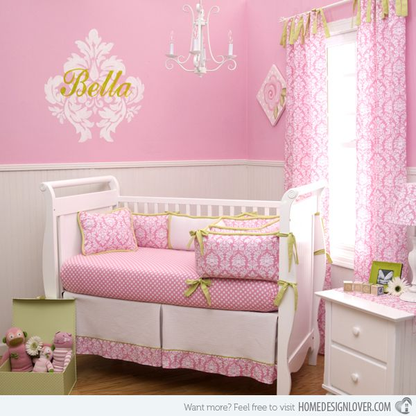 15 Pink Nursery Room Design Ideas for Baby Girls | Nursery, Room ...