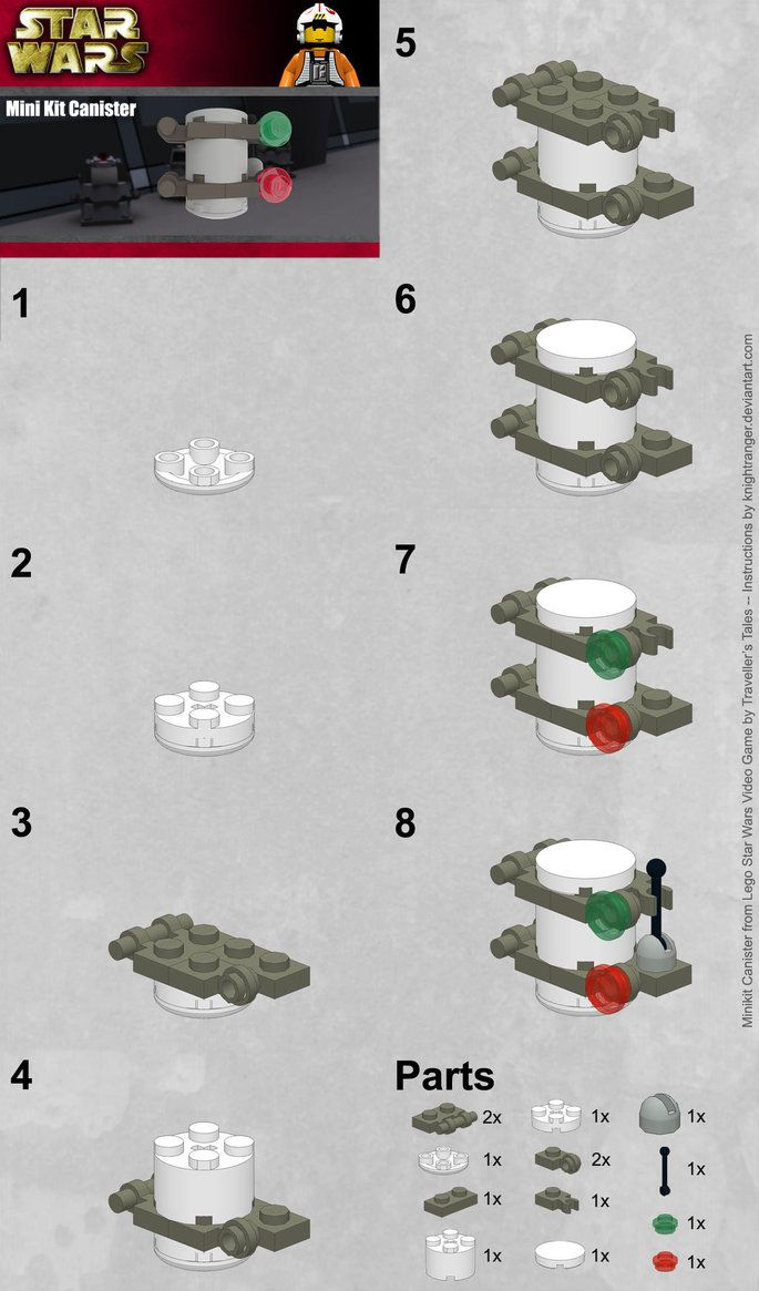 Part Canister Instructions by KnightRanger deviantart com on