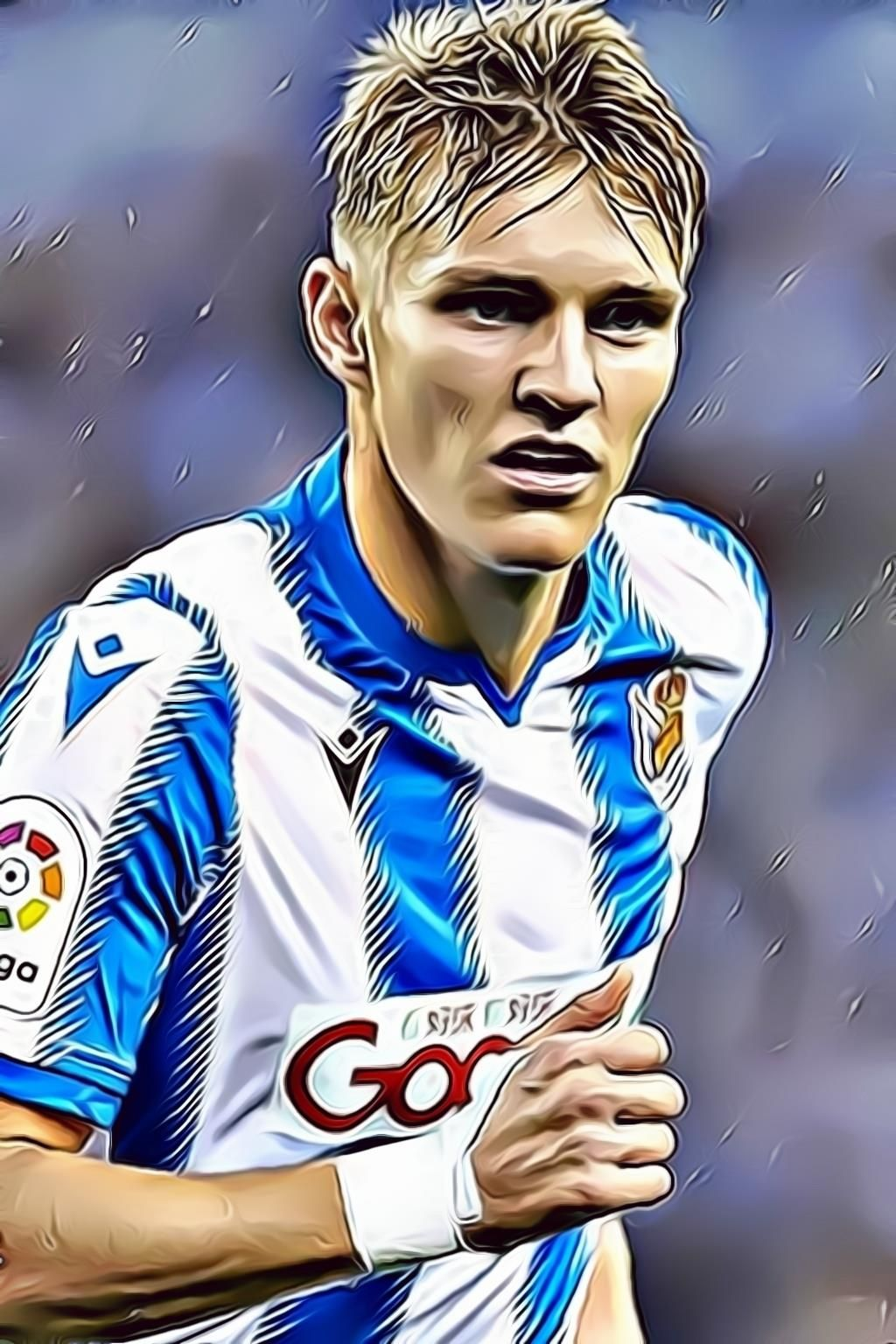Real Madrid Remember Martin Odegaard Of Real Sociedad Early Martin Odegaard Real Madrid Real Sociedad