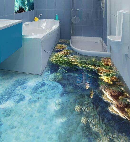 Bathroom Floor Murals Designs, Modern Self Leveling Floors For Bathroom  Flooring Ideas