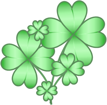 17++ 4 leaves clover clipart information