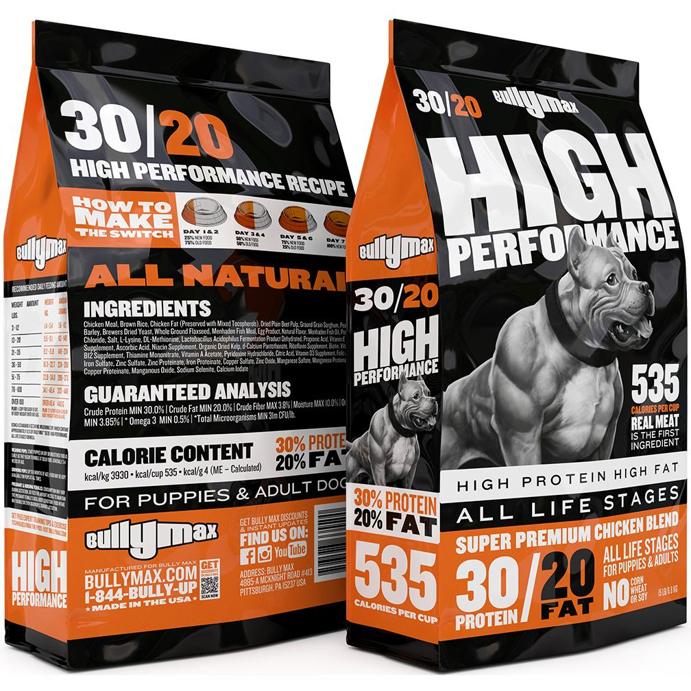 30 20 High Performance Dog Food Dog Food Recipes High Protein