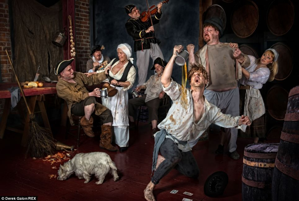 Photographer Painstakingly Pays Homage To Fine Art Masterpieces Fine Art Adriaen Painting