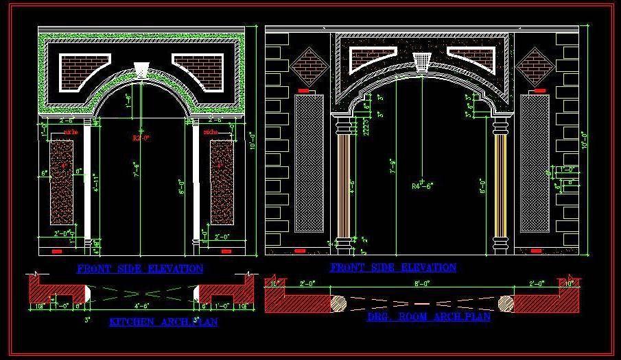 Modern Arch Design For Open Entrance Front Elevation Designs Design Entrance