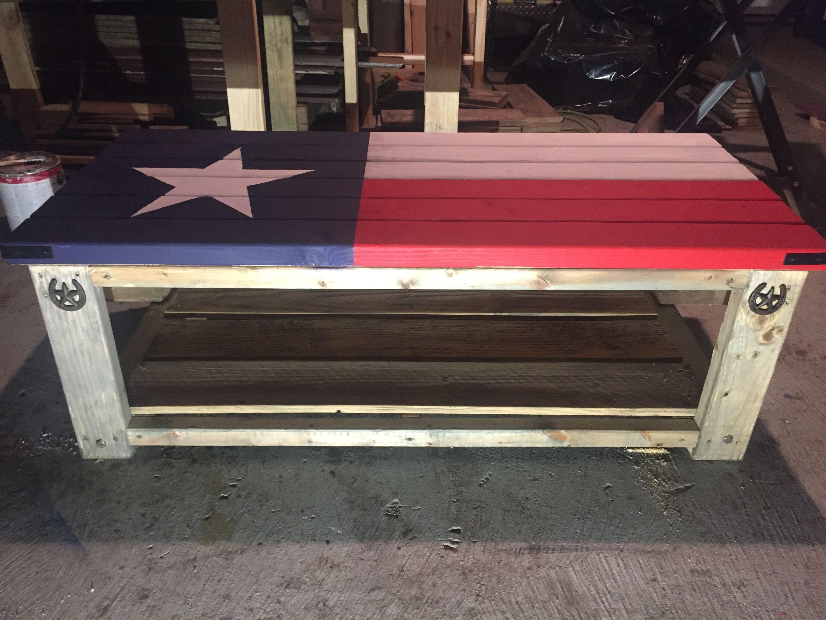 texas flag coffee table diy coffee