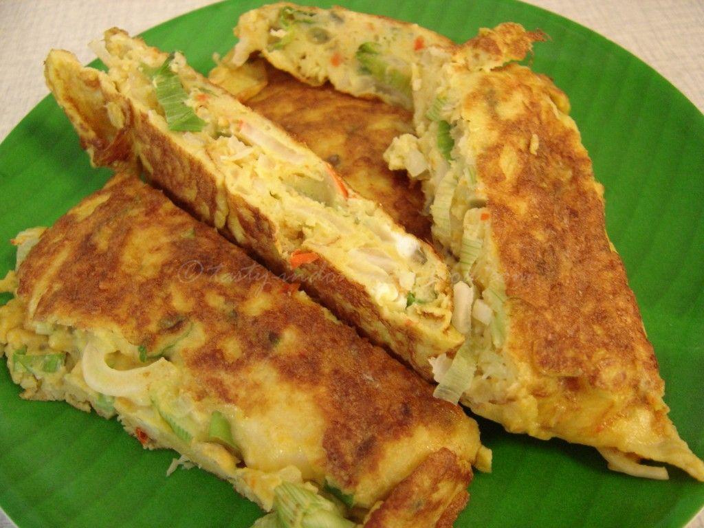 Tasty Indonesian Food Telur Dadar Ala Warteg Telur Dadar Makanan Telur