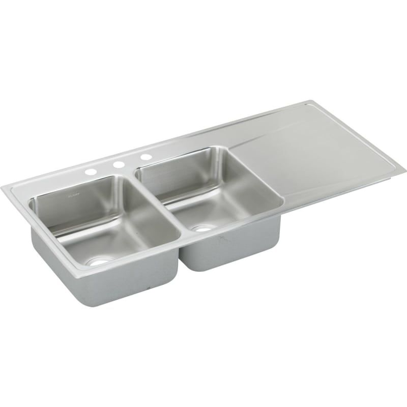 Elkay Ilr4822l Stainless Sink Double Bowl Kitchen Sink Drop In