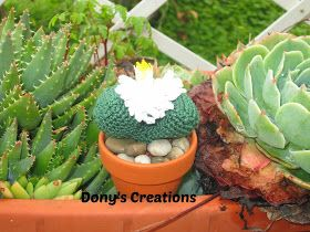 Pola Gratis Gantungan Kunci Amigurumi : Amigurumi cactus and flower crochet pattern ravelry cactus
