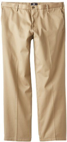 $18, Dockers Signature Khaki D2 Straight Fit Pant. Sold by Amazon.com. Click for more info: https://lookastic.com/men/shop_items/360220/redirect