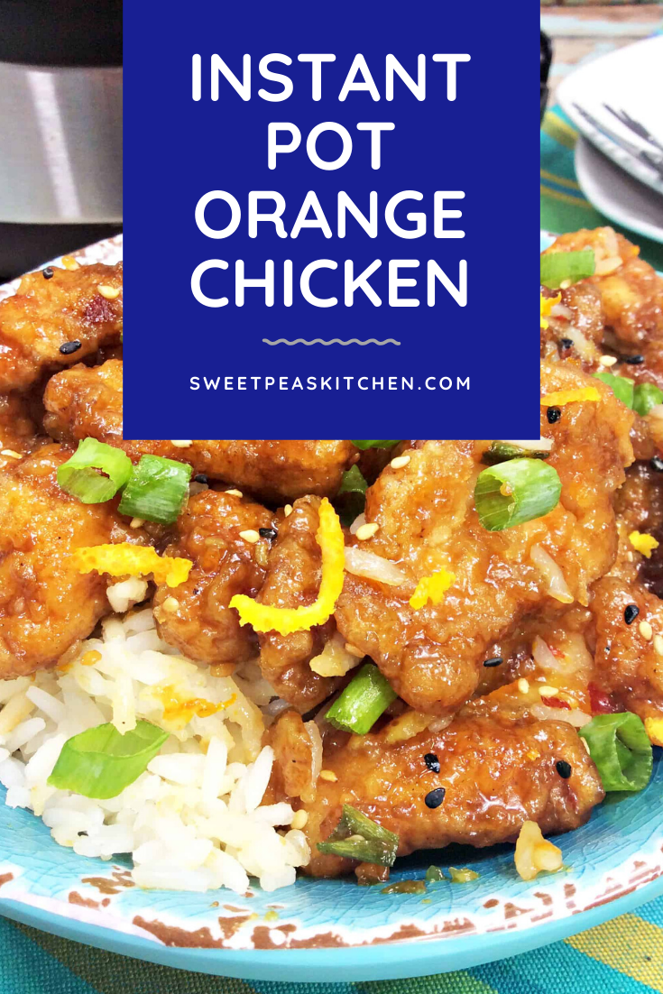Instant Pot Orange Chicken #chineseorangechicken