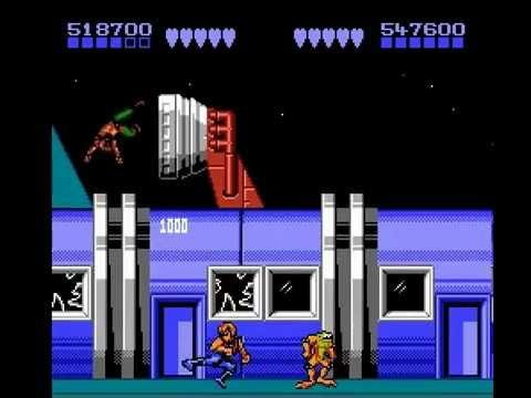 Battletoads Double Dragon Nes 2 Player Real Time Playthrough Double Dragon Entertainment System Nes