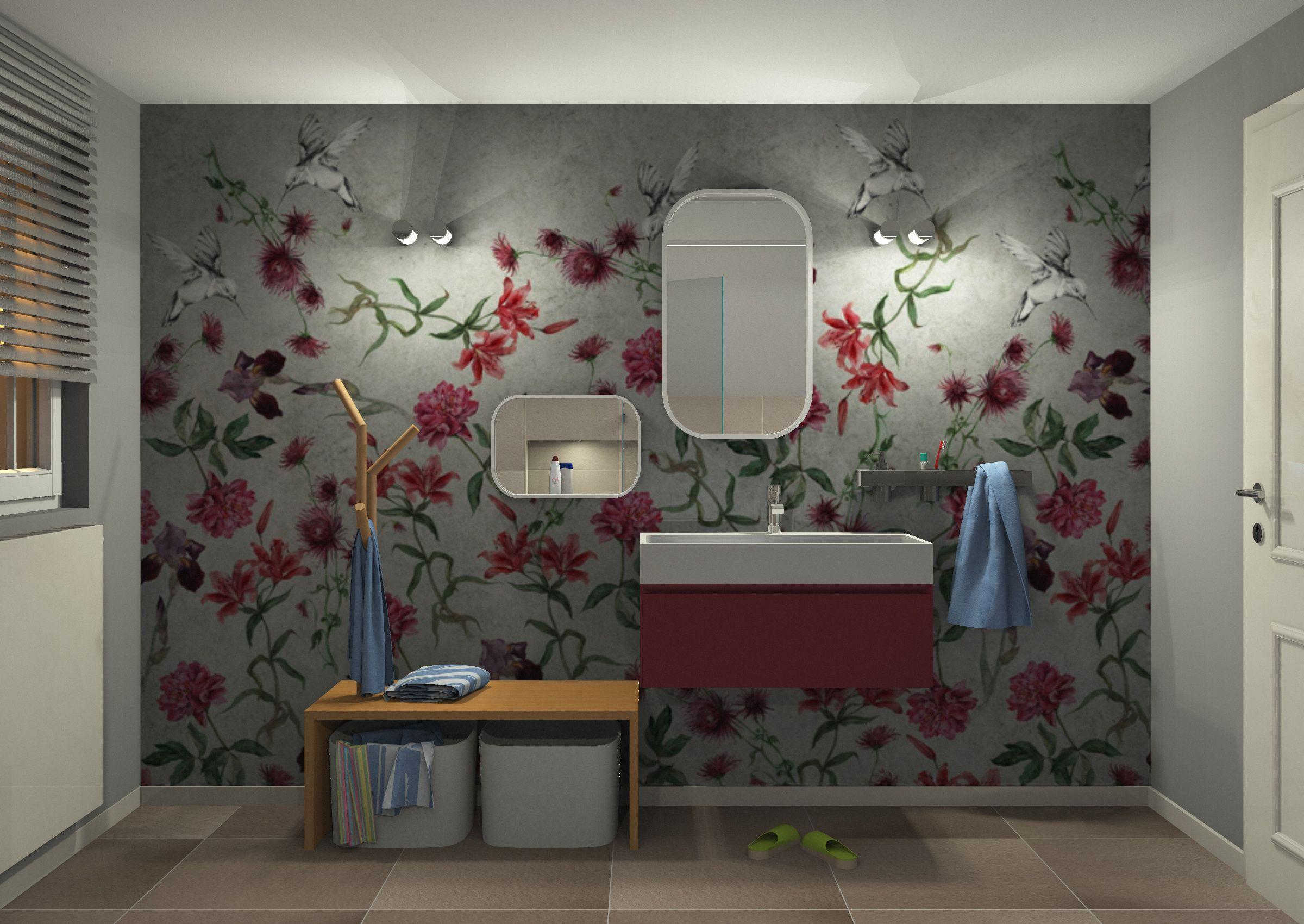 Kinder Badezimmer ~ Badezimmer idee für kinder mit spiegel für groß und klein