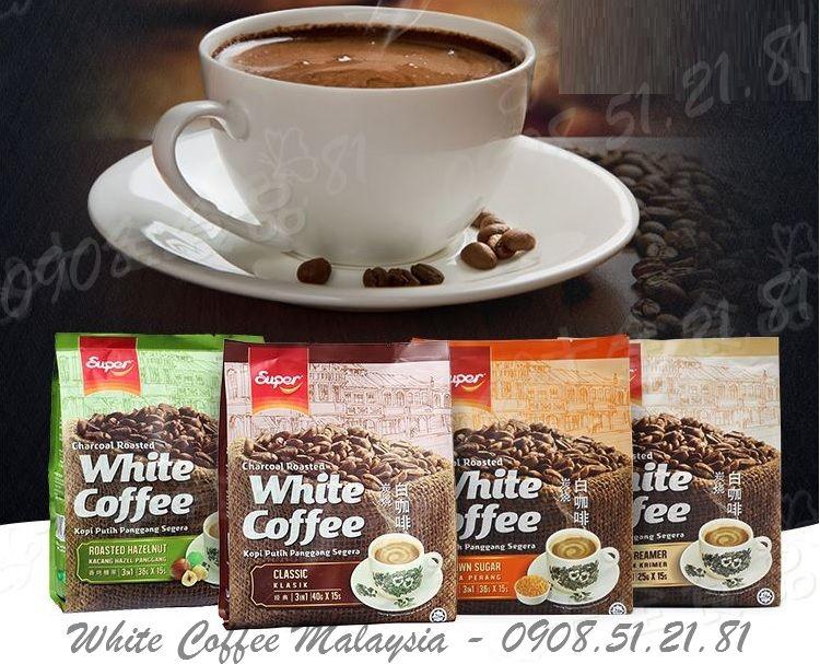 cà phê trắng Malaysia cà phê trắng Super white coffee