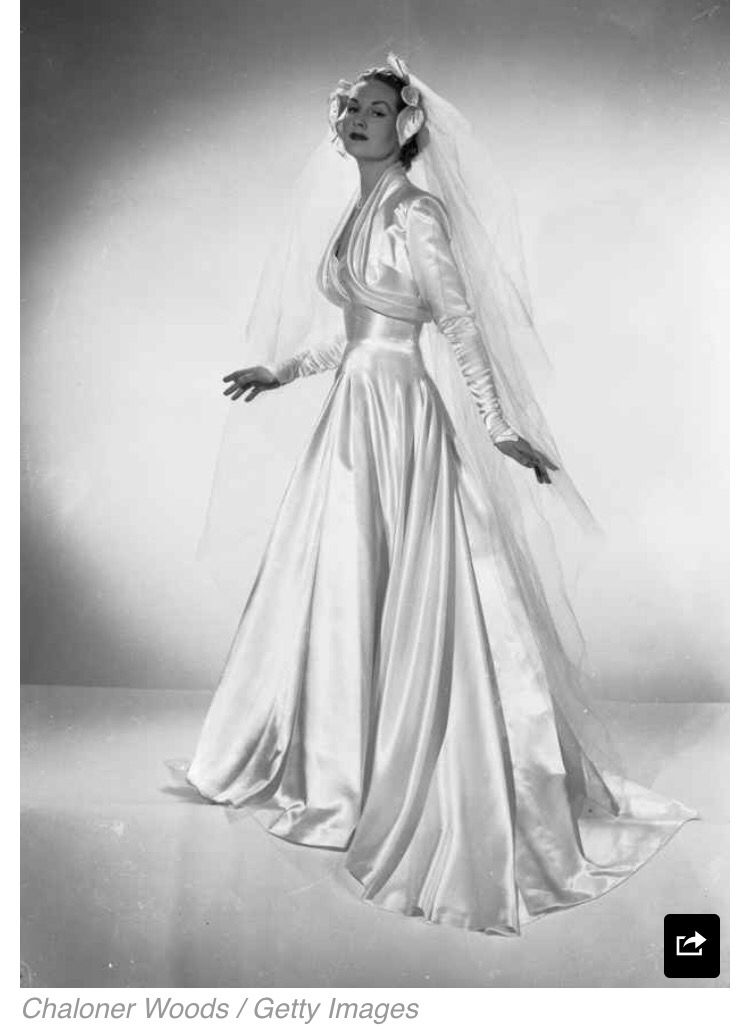 Vintage Wedding Dress | Romance Junkie! | Pinterest | Vintage ...