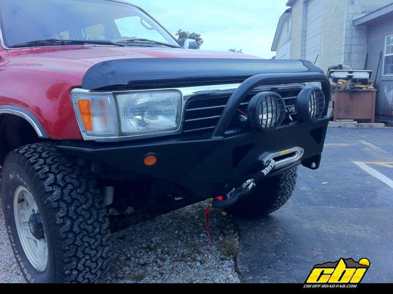 2nd Gen Toyota 4runner Diy Front Winch Bumper By Cbi Offroad Fab 3 Of 6 Em 2020 Auto