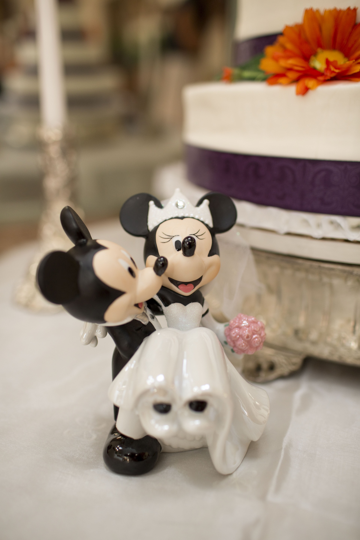 mickey minnie wedding cake topper