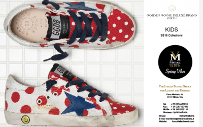 GOLDEN GOOSE SS16 KID SNEAKERS