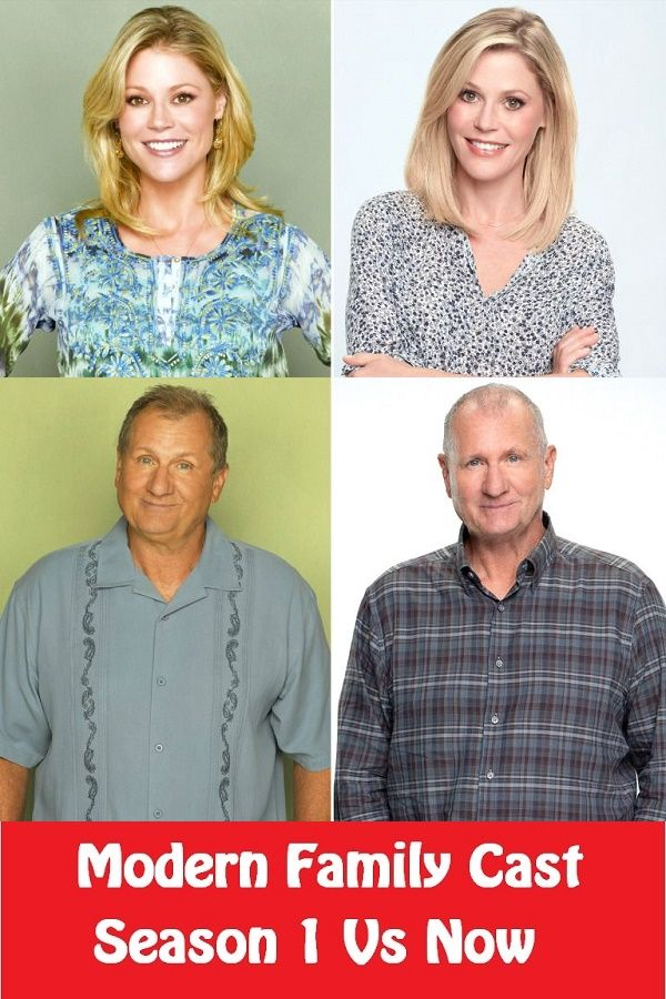 Modern Family Cast Season 1 Vs Now Modern Family Then And Now In