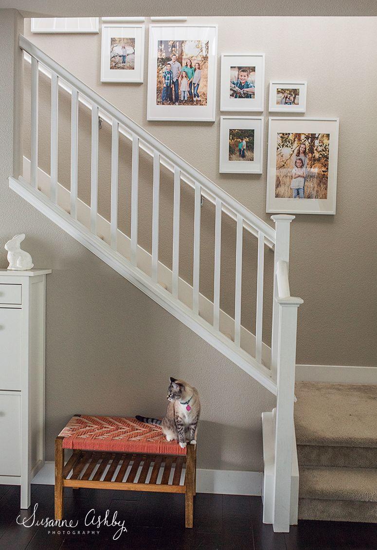 Sacramento Wedding Photographer Staircase Wall Decor Decorating