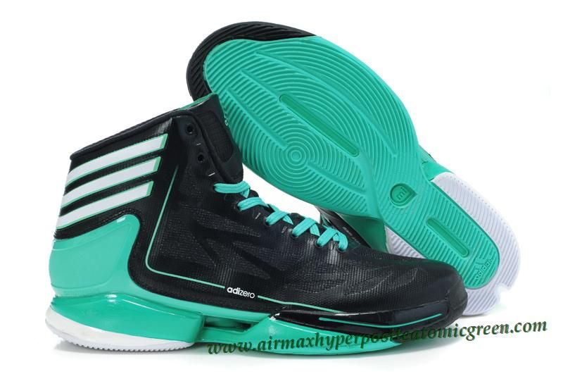 promo code 26c85 70f4e Adidas Adizero Crazy Light 2 Derrick Rose Shoes Black Green