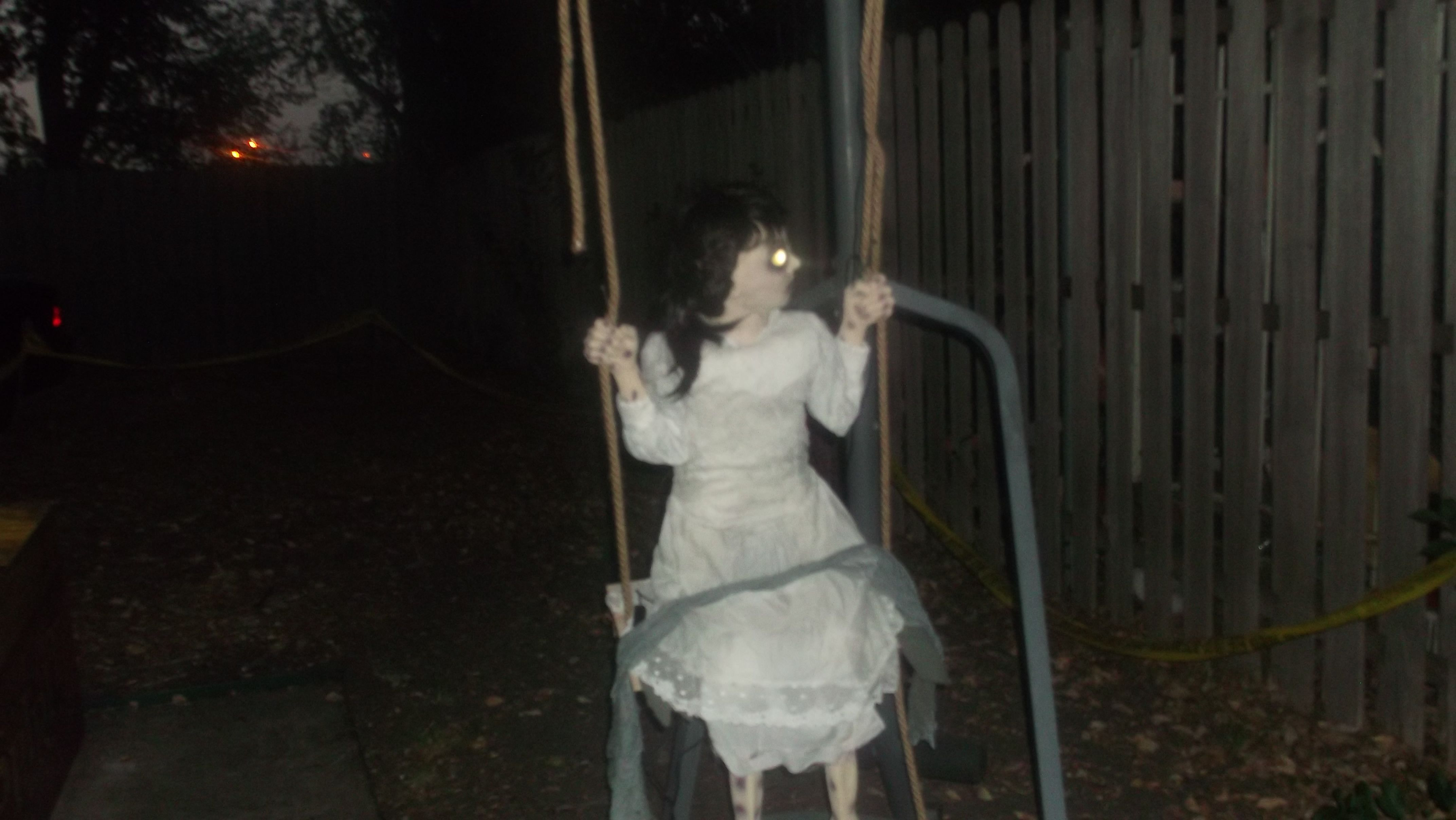 Zombie Swing girl was one of Spirit Halloween's most