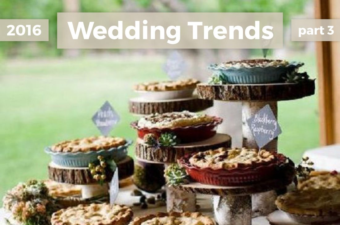 2016 Wedding Trends - Part 3 - The Mohicans - The Grand Barn  www.themohicans.net