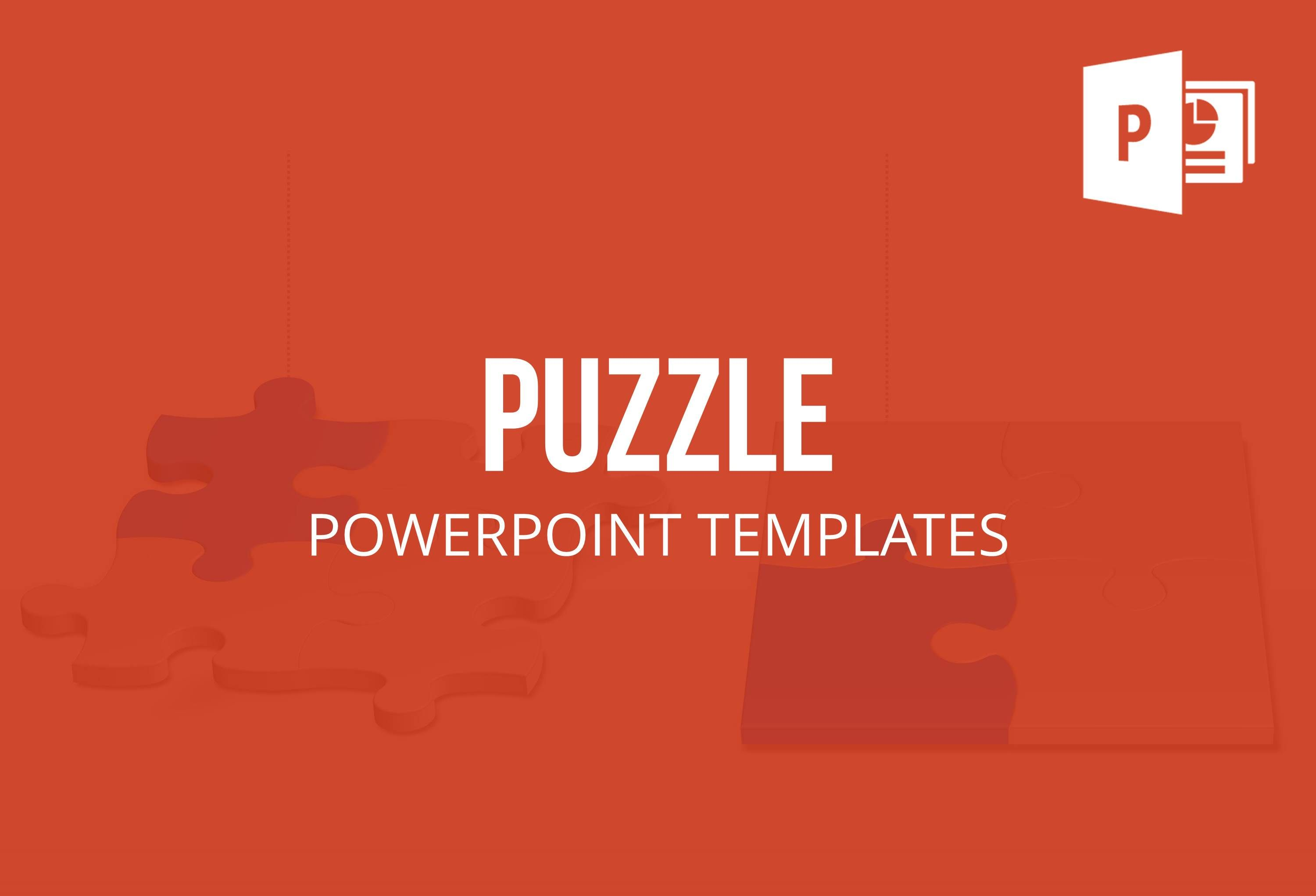 Pre-designed and professionally edited Jigsaw Puzzle PowerPoint ...