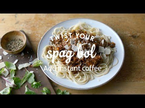 Spag bol with a coffee twist recipe | Homemade