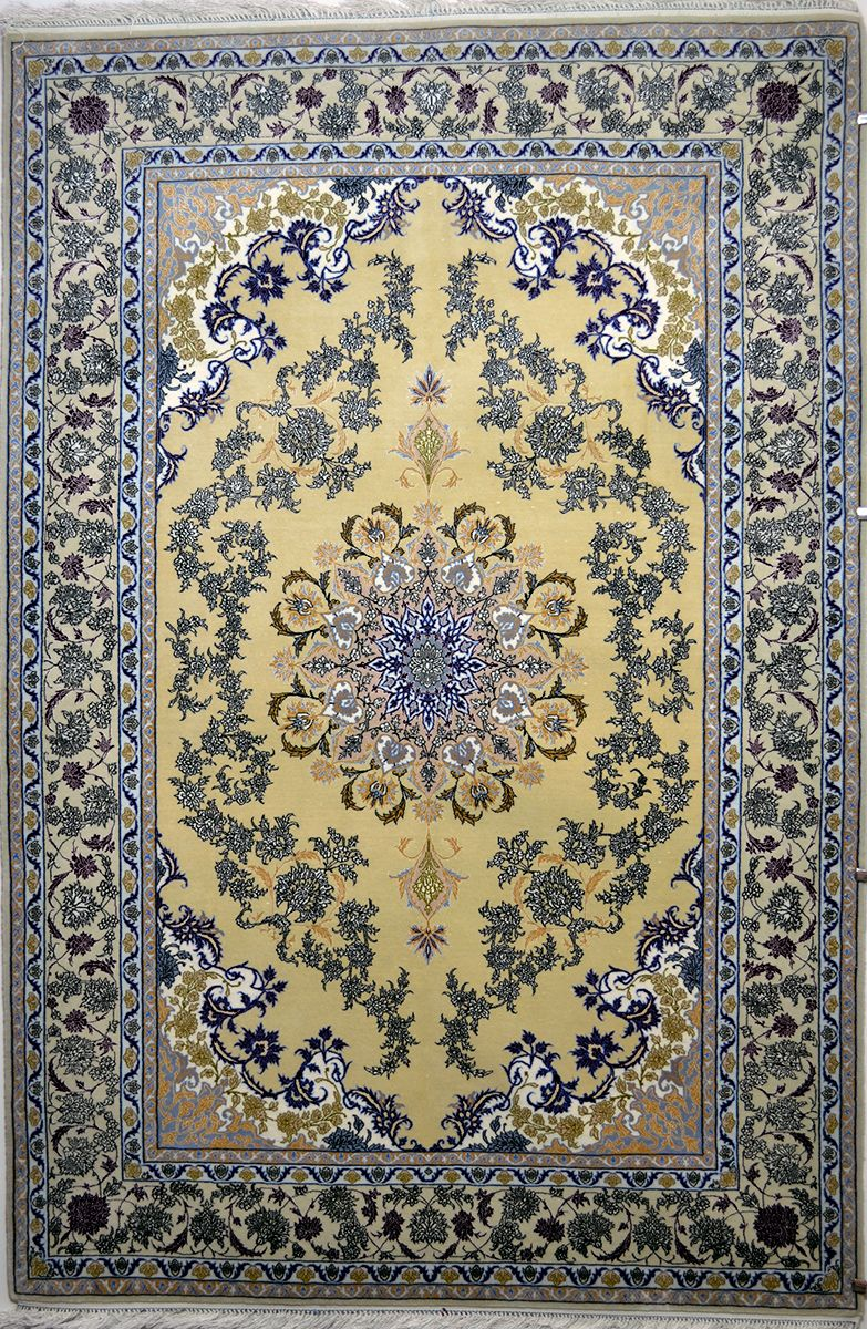 Isfahan Silk Persian Rug Exclusive Collection Of Rugs
