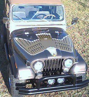Golden Eagle Decals Jeep Cj Jeep Cj5 Old Jeep