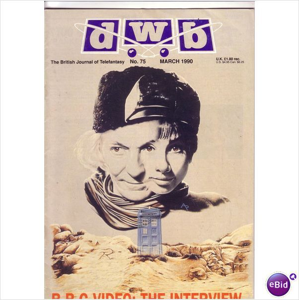 Doctor Who DWB Film TV Magazine No 75 March 1990 on eBid United Kingdom