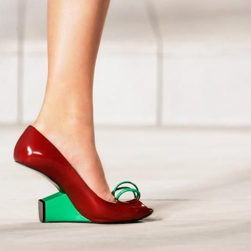 Funny shoes, Marc jacobs shoes, Heels
