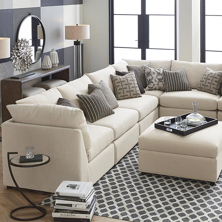 Buy Custom Upholstered Pit Shaped Sectional At Bassett Furniture. Large  Home Furnishings Selection. Sales And Discounts Available.