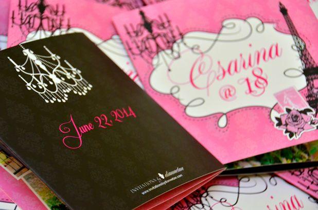 debut invitation - Hanapin sa Google somethingspecial Pinterest - best of invitation letter sample for debut